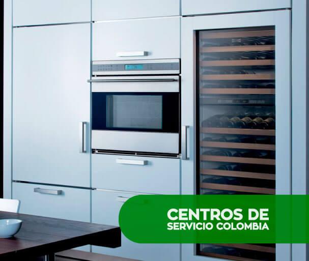 Reparación de electrodomésticos Sub Zero en Bogotá