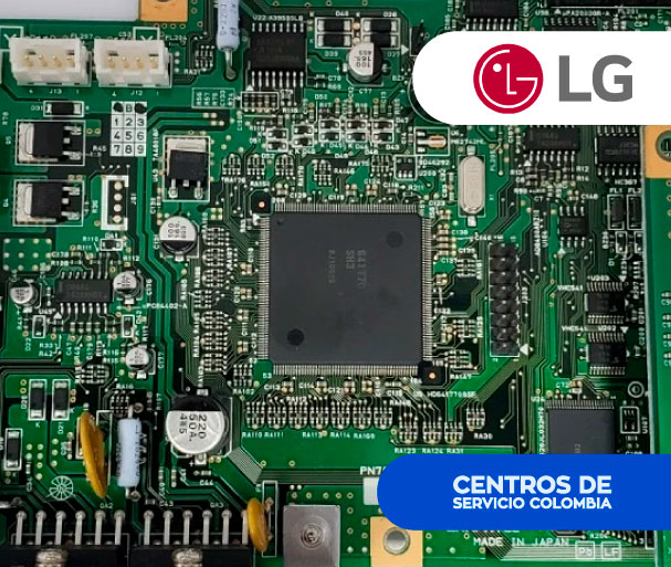 Tarjetas para Televisores LG en Pereira