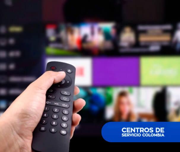 Control remoto para televisores